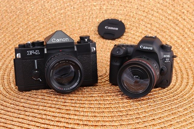 Analog and Digital cameras