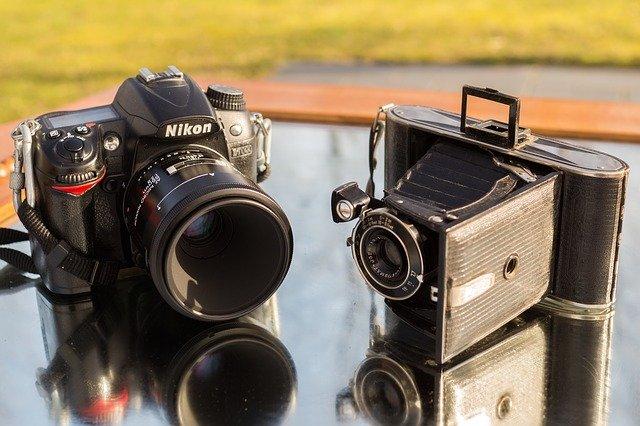 Digital and Analog cameras